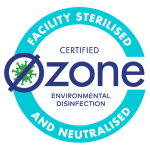 Ozone Disinfection - Certified Sterilised and Neturalised