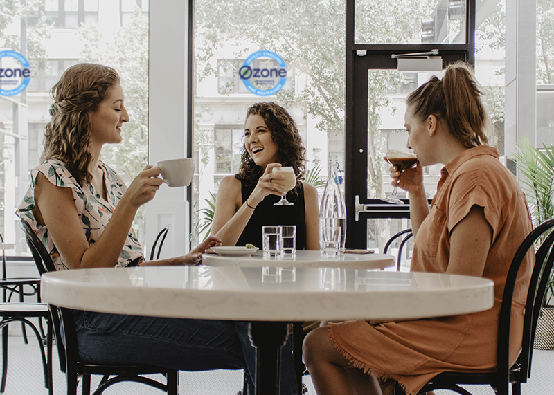 Ozone Disinfection for Cafes and Restaurants