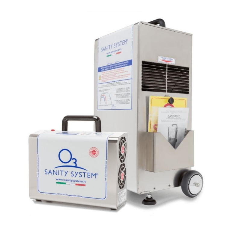 Ozone Disinfection Powered By Sanity System Machines