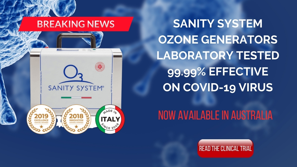 Sanity System is tested and certified to be 99.99% effective in the Elimination of COVID-19