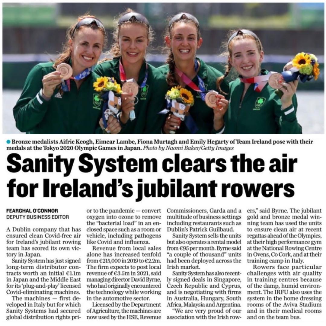 Ozone Disinfection Irish Inderpendant News